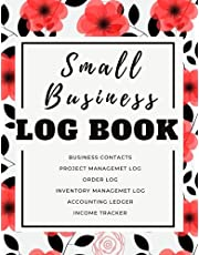 Small Business Supplies: Small Business Log Book: book keeping log for small business | inventory log book small business | income and expense log book small business|order log book,simple order tracking organizer for small business|Accounting Ledger
