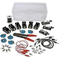 [Patrocinado] nasco Student Electricidad Assortment–aula Electronics–Kit de piezas de repuesto 40+ piezas