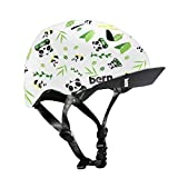 Bern Unlimited Tigre Helmet w/Flip Visor (Satin White Panda) For Sale