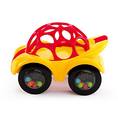 - Oball Rattle and Roll Car (Single Car, Colors May Vary)