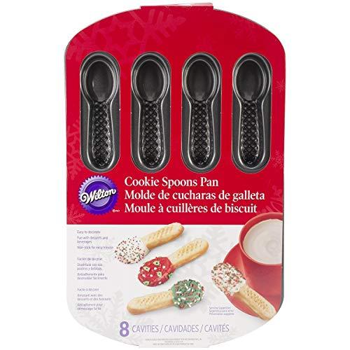 Wilton 2105-6416 8-Cavity Cookie Pan Spoons (Wilton Spoon Spatula)