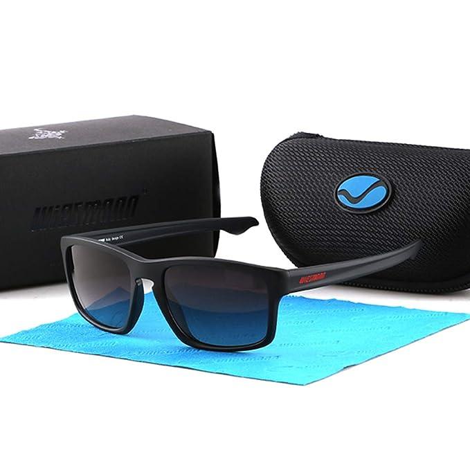 Amazon.com: WIESMANN TR-90 UV400 Gafas de sol polarizadas ...