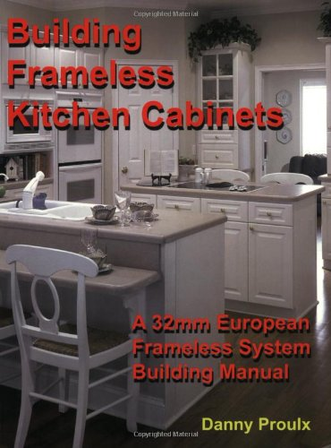 Building Frameless Kitchen Cabinets -