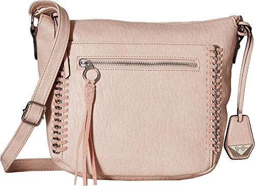 Jessica Simpson Women's Kai Crossbody Powder Blush One Size (Zip Zap Zipper Bag)