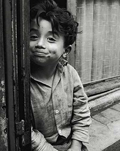 Posters: Children Poster Art Print - Hide-And-Seek I By Sabine Weiss