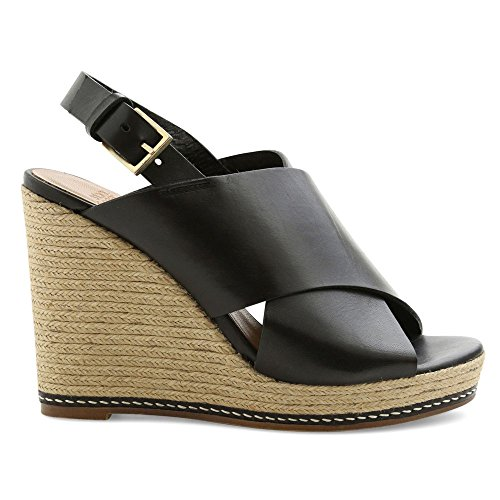 Andre Assous Womens Cora-A Wedge Sandal Black p9uS3