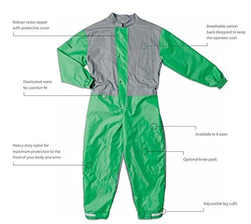 RPB Safety 07-755 Heavy Duty Nylon Lightweight Blast Suit (XXX-Large)