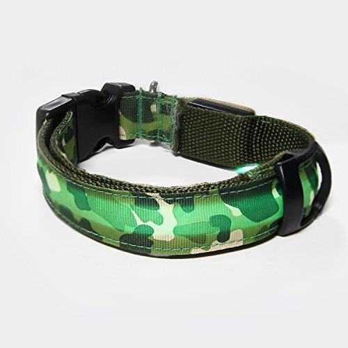 Collar Itery Flashing Lights Camouflage