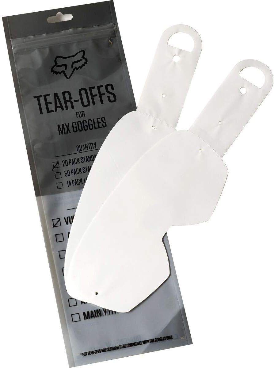 Fox Airspace//Main Ii Std Tear Off-20Pk Clear