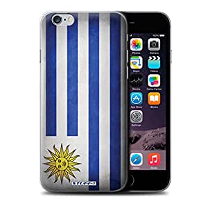 STUFF4 Phone Case / Cover for Apple iPhone 6 / Uruguay/Uruguayan Design / Flags Collection