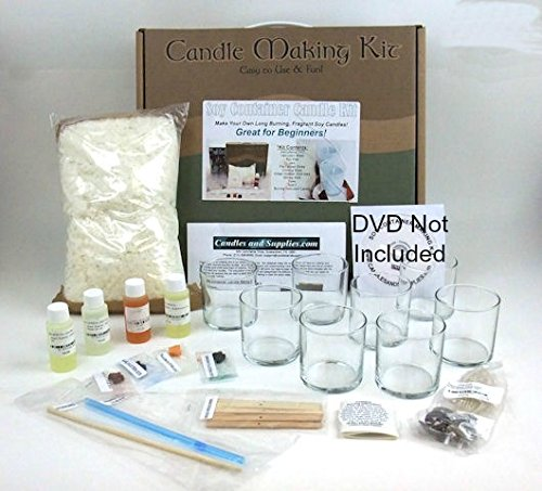 Soy Container Candle Making Kit Cuscus