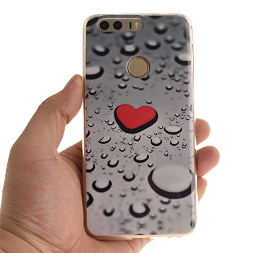 Motif Honor Hozor Cas Huawei Souple TPU Couverture 8 Peint Silicone En Arri RCIIS5xqw