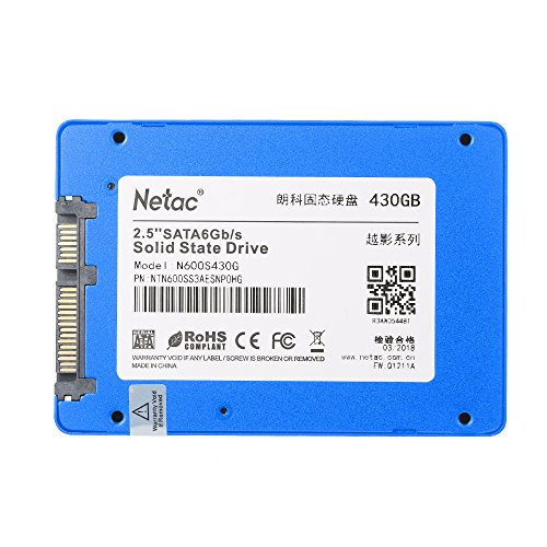 KKmoon Netac NAND SATA III 2.5 Inch Internal SSD High Speed up to 500MB/s Read Solid State Drive by KKmoon (Image #4)