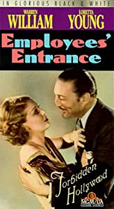 Employees' Entrance (Forbidden Hollywood) [VHS]