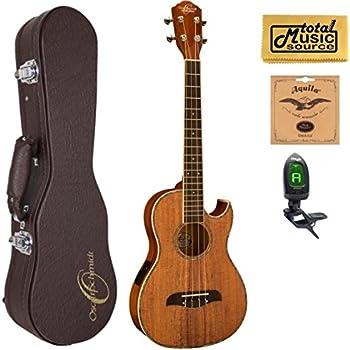 oscar schmidt ou55ce acoustic electric baritone ukulele all koa grover tuners w. Black Bedroom Furniture Sets. Home Design Ideas