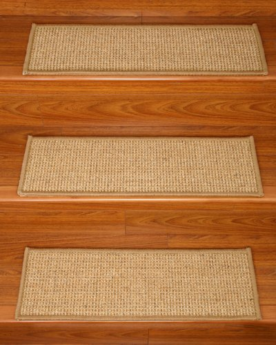 NaturalAreaRugs Carpet Treads Serged 29 inch product image