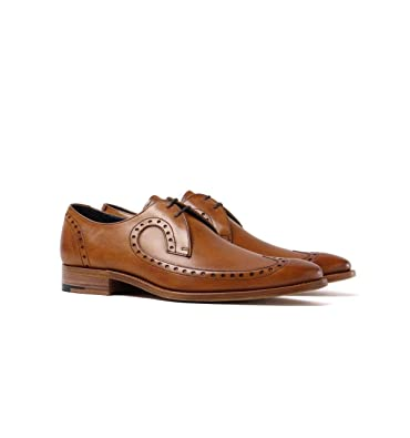 9a6696704b523 Barker Woody Cedar Leather Long Wing Brogues: Amazon.co.uk: Shoes & Bags