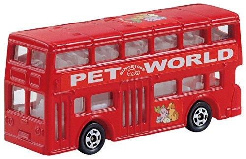 1/130 ロンドンバス PET WORD仕様 (レッド) 「トミカ No.95」
