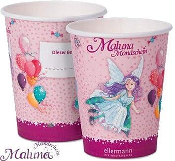 Feen-Party: 8 Vasos de MALUNA para cumpleaños Infantiles o ...