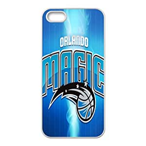 Orlando Magic NBA White Phone Case for iPhone 5S Case