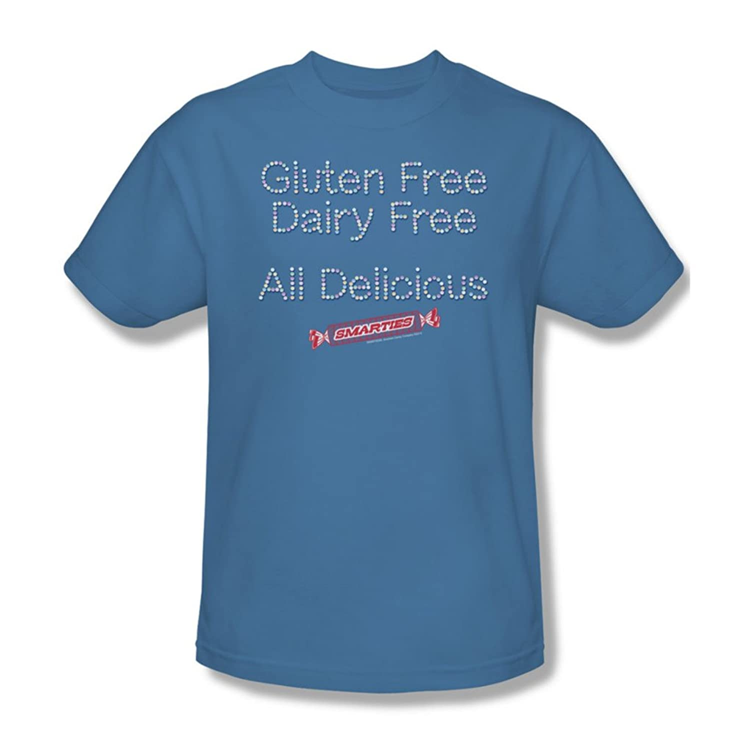 Smarties - Mens Free & Delicious T-Shirt
