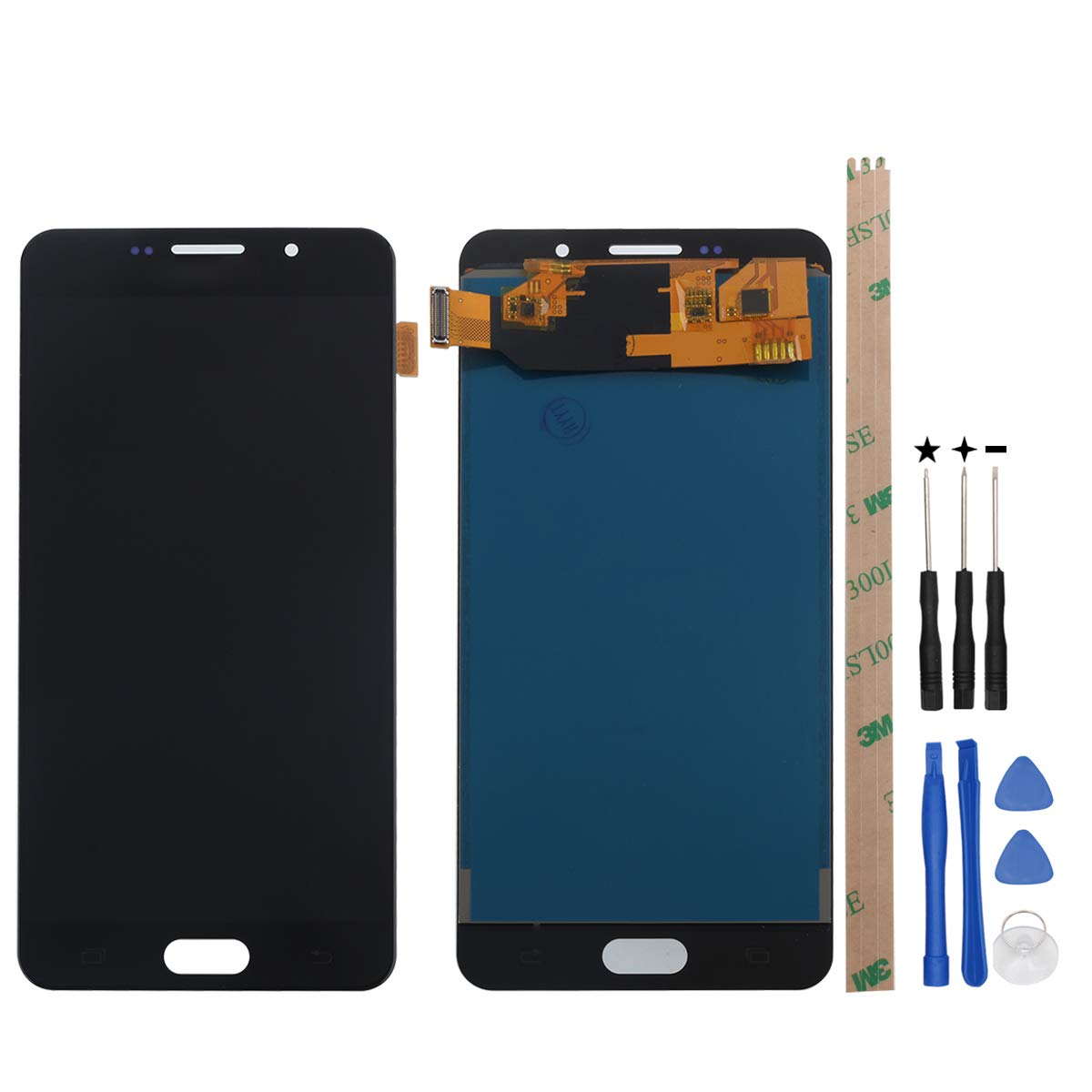 Repuesto Lcd Touch Screen Para Galaxy A7 2016 A710 A710f