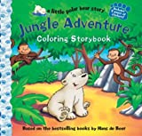 Jungle Adventure Coloring Storybook, Hans de Beer, 1402712863