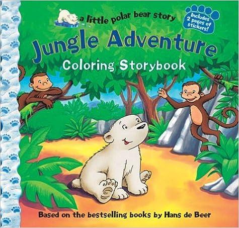 Descargar Libros Gratis Español Jungle Adventure: Colouring Storybook Pagina Epub