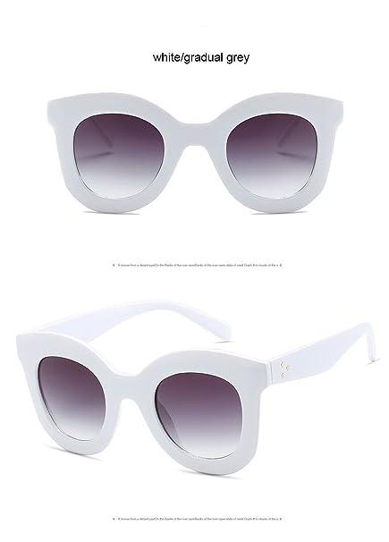 da085e0ab6 Aprigy Gradient Points - Gafas de Sol para Mujer, diseño de Tom, White Gray