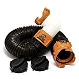 Camco 39768 RhinoFLEX 3′ Tote Tank Sewer Hose Kit