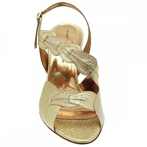 Sabrina Petal Sandal Sabrina Chic Chic Gold Taq6Bxw