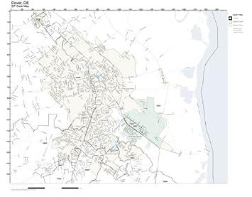 Dover De Zip Code Map.Amazon Com Zip Code Wall Map Of Dover De Zip Code Map Laminated