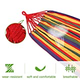 Goutime 9Ft Double Hammock with Detachable