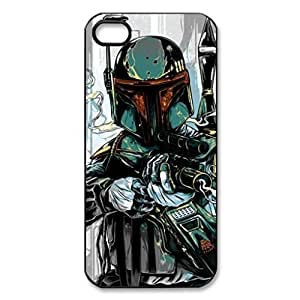 Boba Fett Armor Star Wars Image Protective Iphone 5s / Iphone 5 Case Cover Hard Plastic Case for Iphone 5 5s by ruishername