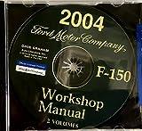 2004 FORD TRUCK PICKUP F-150 REPAIR SHOP & SERVICE MANUAL CD - Covers All Models