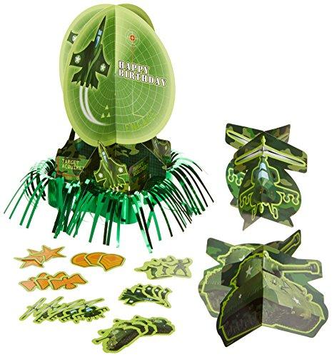 Camouflage Table Decorating Kit, Birthday ()