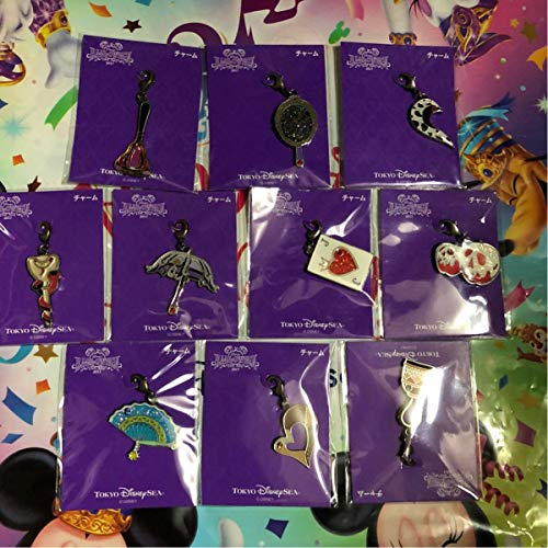 ディズニー ヴィランズ 手下 チャーム 10個コンプリート ディズニー35周年 パイレーツサマー ディズニー ハロウィンの商品画像