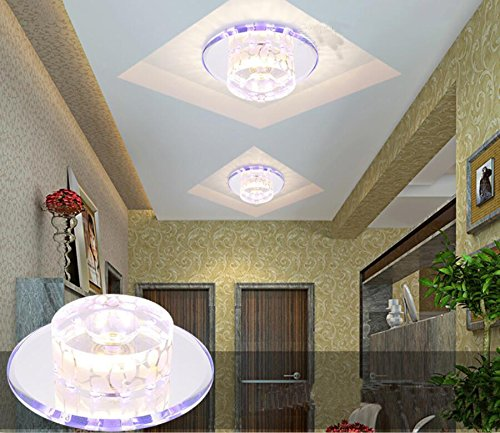 ZLL/ LED cristal luz salón habitación lámparas/lámparas ...