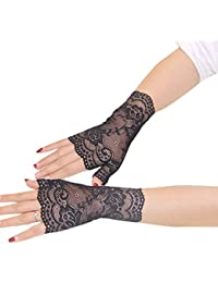2017 Women's Fashion Wedding Party Gloves for Evening Sexy Prom Gloves