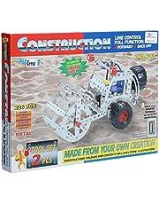 Construction Vehicles-Shaped Mecano - 226 Pieces