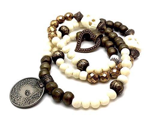 Shop DAYLE Women's Bohemian Beaded Gemstone Bracelet Charms