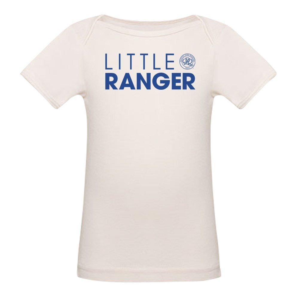 CafePress Organic Cotton Baby T-Shirt Queens Park Little Ranger