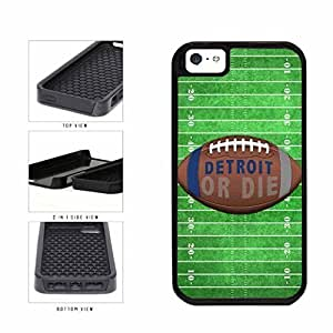 Detroit or Die Football Field 2-Piece Dual Layer Phone Case Back Cover Case For Samsung Note 4 Cover