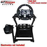 GT Omega Steering Wheel stand suitable For LOGITECH Driving Force G920 Wheel and Shifter PRO
