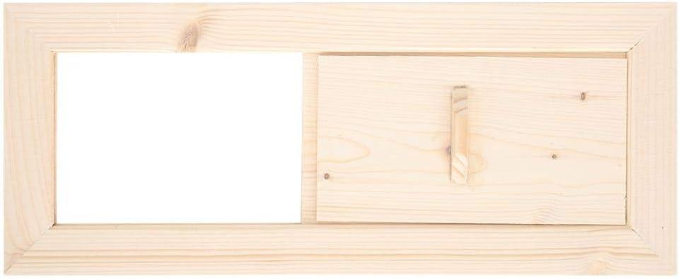 Pangding Sala de Sauna Ventilaci/ón de Aire Vapor Panel de ventilaci/ón de Aire Rejilla de ventilaci/ón de Aire Accesorios para Equipos de ba/ño