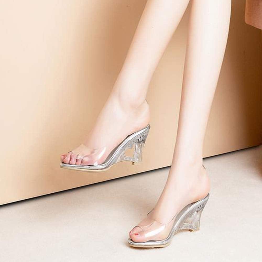 AicciAizzi Women Fashion Summer Shoes Wedges Heels Pumps