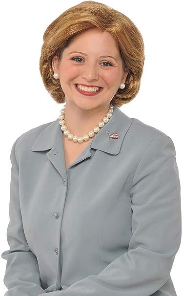 Forum Novelties Hillary Clinton disfraz peluca Adulto accesorio Político hembra Candidato