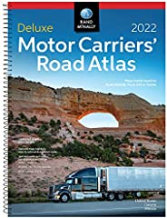 2022 Deluxe Motor Carriers' Road Atlas (Rand McNally Motor Carriers' Road Atlas DELUXE