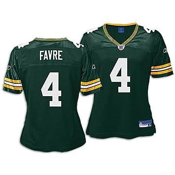 on sale 63e52 4b364 Amazon.com : Brett Favre Reebok Green Replica Green Bay ...