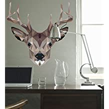 Oopsy Daisy Fine Art for Kids Wild Animal - Deer Poster That Sticks by Linn Maria, 28 by 28-Inch